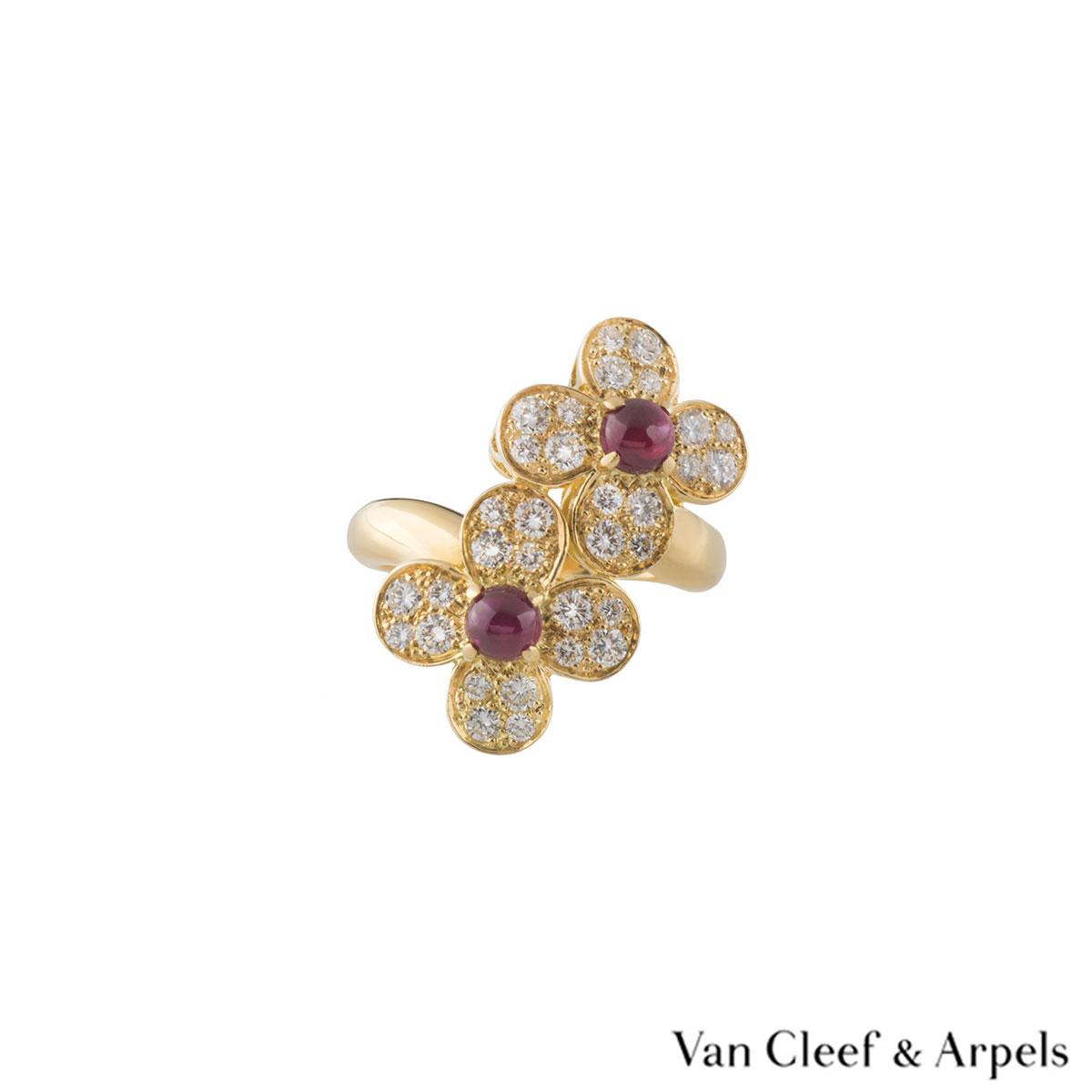 Van Cleef Amp Arpels Alhambra Ring